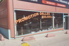 Aubagne location local commercial + entrepôt stockage 270m²118-84C