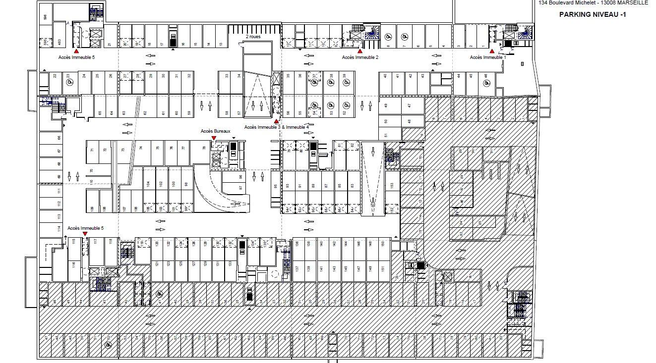 Marseille vente T1 studio, 36.19 m2 + 8.72 m2 de balcon (119-32/13008/5711)