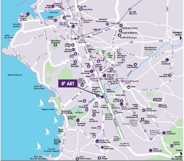 Marseille Vente T3 63.36 m2 + 20.45 m2 de balcon (119-32/13008/5709)